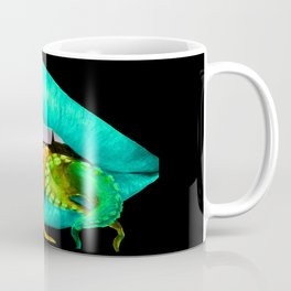 Blue Octo Lips Coffee Mug