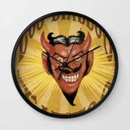 Los Diablos Wall Clock