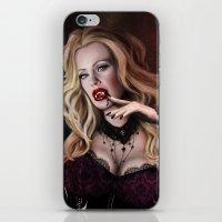 true blood iPhone & iPod Skins featuring Pam de Beaufort of True Blood by Jaime Gervais