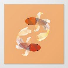 Koi Fish. Canvas Print