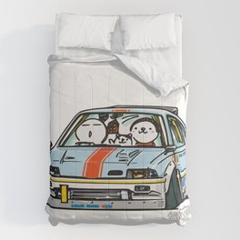 Crazy Car Art 0151 Comforters