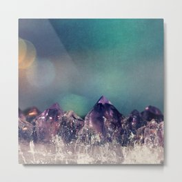 Mini Mountains Metal Print
