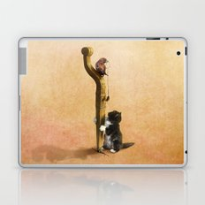 The Cat, the Bird and the Mouse Laptop & iPad Skin