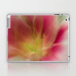Abstract Pink, Yellow, White Lily-Fleur Blur Series Laptop & iPad Skin