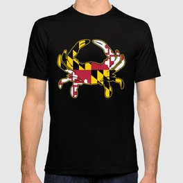 Maryland Flag Crab T-shirt
