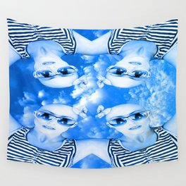 Skydivers Wall Tapestry