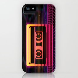 Sunset Cassette iPhone Case