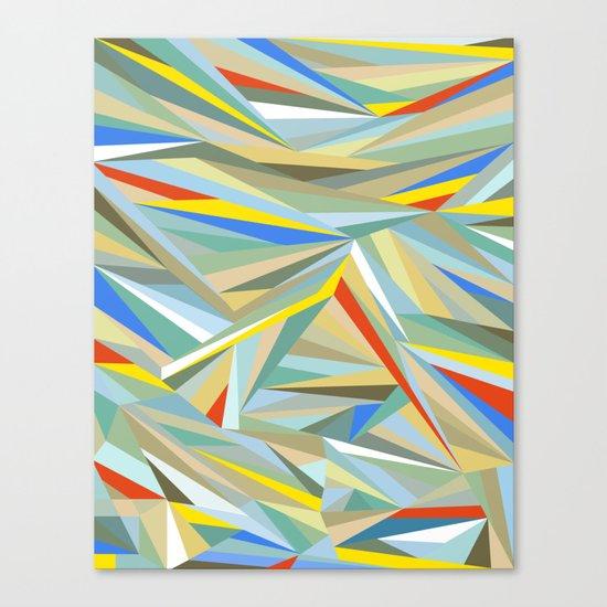 Sliced Fragments Canvas Print