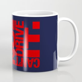 Yes it's fast No you can't drive it v5 HQvector Coffee Mug