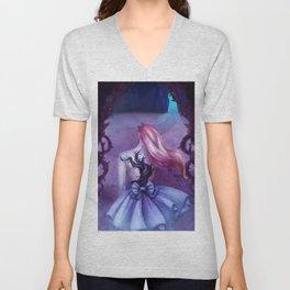 Alice In Wonderland Unisex V-Neck