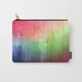 Visitor - colorful distressed abstract Carry-All Pouch