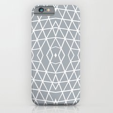 Geo Outline Grey iPhone 6s Slim Case