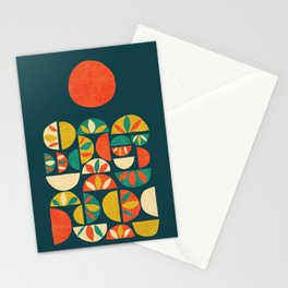 Jumpy Hills Stationery Cards