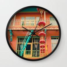 Chinatown II (San Francisco)  Wall Clock