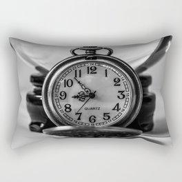Nearly Nine.  Rectangular Pillow
