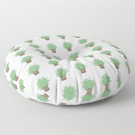 Little Potted Plant Floor Pillow