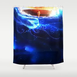 Endless Sea Shower Curtain
