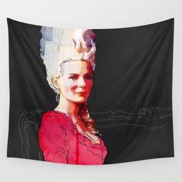 Kirsten Dunst as Marie Antoinette Wall Tapestry