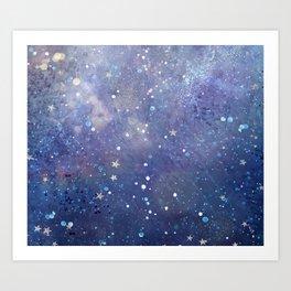 Galaxy II Art Print