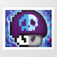 Deadly Fungus Art Print