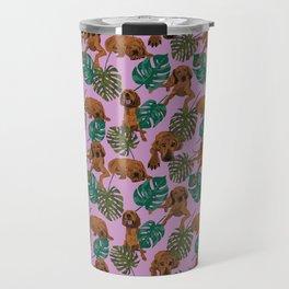 Tropical Redbone Coonhounds 2 Travel Mug