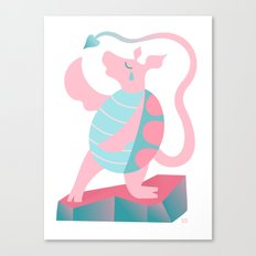 Mock Turtle Canvas Print