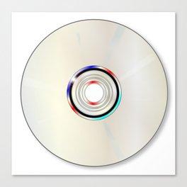 Blank DVD  Canvas Print