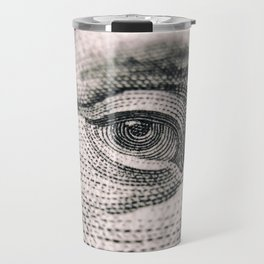 Benjamin Franklin Eye Travel Mug