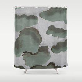 Gray Sky Shower Curtain