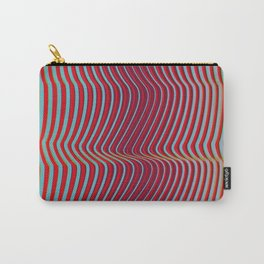 OpArt WaveLines 2 Carry-All Pouch