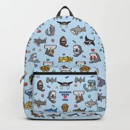 Hammerhead Sharks Backpack