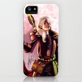 Dragon Age Inquisition - Aspen the elvish mage iPhone Case