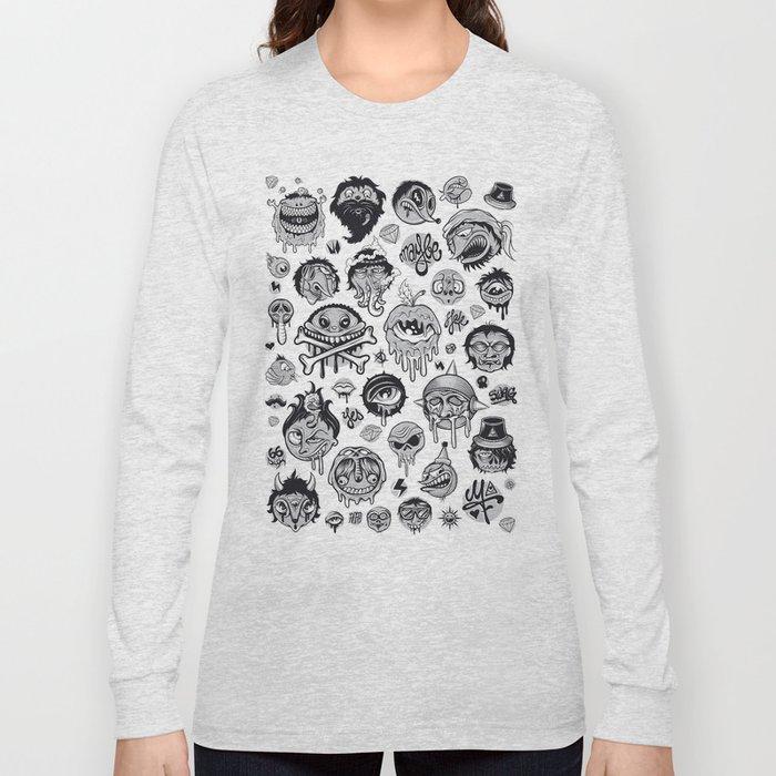 Characters Long Sleeve T-shirt