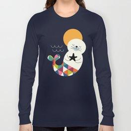 Seals Mermaid Long Sleeve T-shirt
