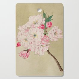 Fukurokuju - God of Longevity Cherry Blossoms Cutting Board