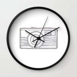 Vintage Camera 4.0 Wall Clock