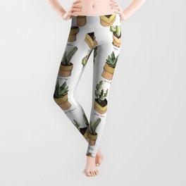 cactus in pockets Leggings