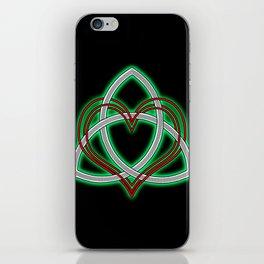 Heart of God iPhone Skin