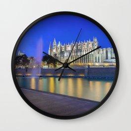 Palma Cathedral,Mallorca,Spain Wall Clock
