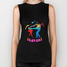 Salsa dance Biker Tank