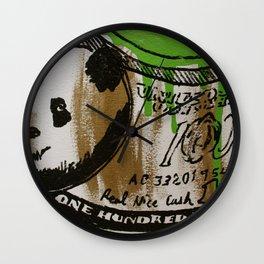 Economics 101 Wall Clock