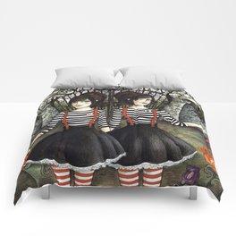 Tweedledee & Tweedledum Comforters