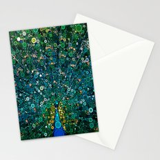 :: Peacock Caper :: Stationery Cards