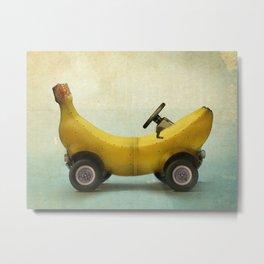 Banana Buggy Metal Print