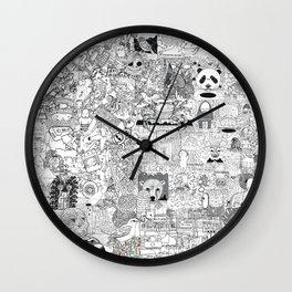 mashup Wall Clock