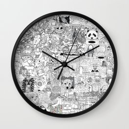 mashup Wall Clock