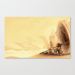 Desert Princess Canvas Print