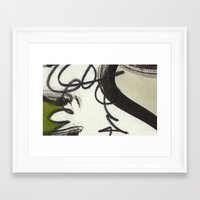 wooden Framed Art Prints featuring Wooden by RADLabs