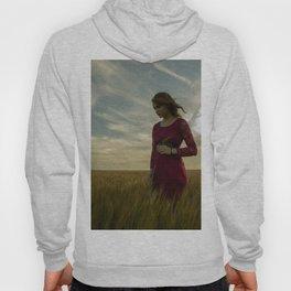 Girl in Wheat Field Hoody