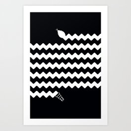(Very) Long Snake Art Print